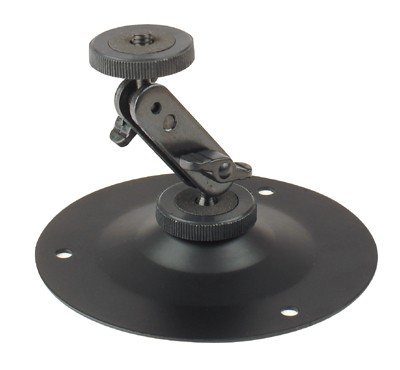Mounting Bracket Wide Round Wide Base for TFT Monitors, Telescope, Cameras