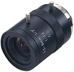 "Varifocal  Lens 6mm to 36 mm w/ Manual Iris 1/3"" F1.2"