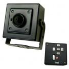 "Wide Dynamic Mini Camera ,1/3"" Dual Scan CCD, 560TVL,0.1 - 0.001 Lux * 811(H)x508(V) pixels * DC12V"