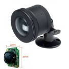 Vandal Proof Mini Camera, CCD Sony, 560 TVL, Super Wide Angle 2.5mm Lens, Slow Shutter, DC12V