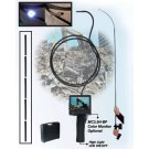 Snake Camera with Flash light Built-in, 3.7mm Lens, Composite Video Out, 3.5 monitor, 8 Feet Long arm, DC12V 150mA