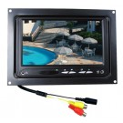 "7"" Color TFT-LCD Monitor, DC12V 9W , 1 x Video IN , 1 x AUDIO IN, AV1 INPUT, AV2 INPUT, DC12 IN JACK. flush mount."