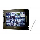 "17"" Rack Mount Touch Screen Monitor"
