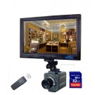 Professional Camera Style with DVR built In, 4 GB Card Included, 540 TVL, Slow Shutter, Real Time