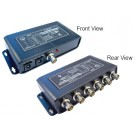 1 in 6 out Video Distributor with Amplifier