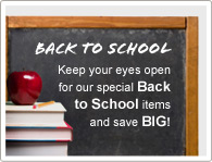 Keep your eyes open for our specials of DVR products and save A LOT!